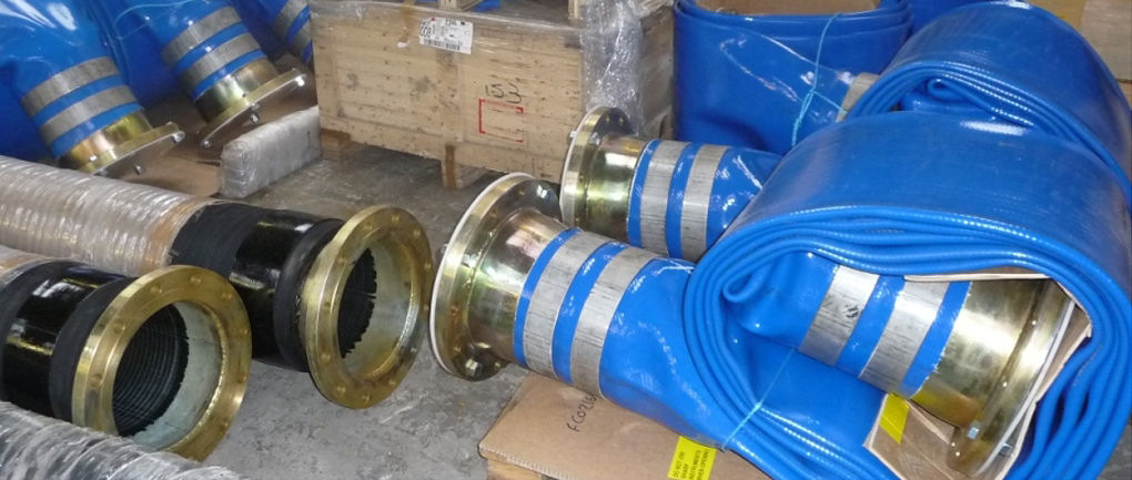 Water Well Couplings Reverse Taper Large Bore Layflat Hose fittings Aluminium Spool Piece Dewatering Fracking Coupling Fracking Bunkering Divers